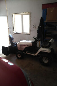 15 hp craftsman lawn tractor and blower