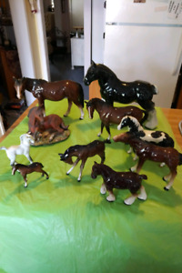 BESWICK AND MELBA HORSES +More* See Each Price