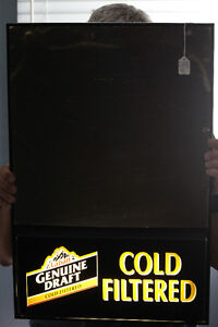 Labatts Lighted Genuine Draft Cold Filtered Beer Sign NEW PRICE