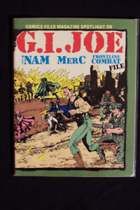 1986 Comics File Magazine Spotlight on G.I. Joe, The 'Nam, Merc