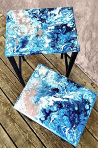 Vintage 1950's Nesting Tables