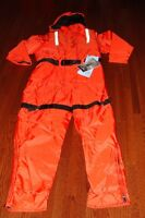 MUSTANG ANTI-EXPOSURE / SURVIVAL COVERALL - NEW WITH TAGS