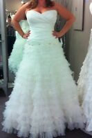 Sophia Tolli size 16 wedding dress