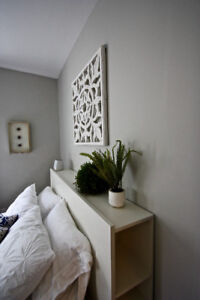 Beautifully furnished, centrally located, 1BR suite Dec 1