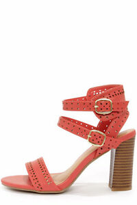Bamboo Kendria 03 Coral Cutout High Heels West Island Greater Montréal image 2