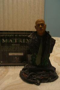 Figurine Buste de Morpheus de la Matrice - Lawrence Fishburne