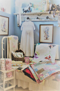 FURNITURE, QUILTS, RAG DOLLS, CLOTHES, HANDMADE, BABY GIFT IDEA