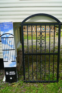 2 Arched Fence Gates by Stiles