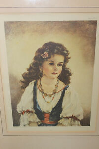 Vintage Pair of Gypsy Prints London Ontario image 3