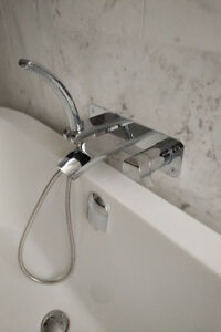 Bathtub Faucet - Riobel SA07 Wall-Mounted Thermostatic Faucet