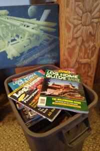 Log Home magazines