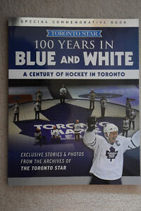 Maple Leafs Commemorative Book - 100 Years in Blue and White