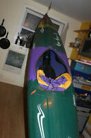 great kayak. with paddle and accessories