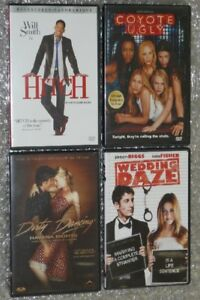 Coyote Ugly/Hitch/Dirty Dancing/Wedding Daze lot 4X