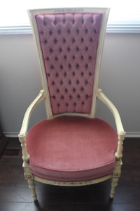 french provincial high chair