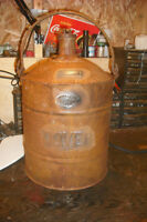 "WW2 US Army ""DOVER"" Jerry Gas Can"