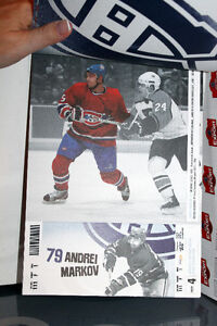 CANADIENS DE MONTRÉAL 2004-2005 NHL Billets Tickets Booklet West Island Greater Montréal image 7