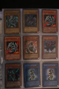 COLLECTIBLE YU-GI-OH CARDS ( BLUE EYES WHITE DRAGON AND MORE )