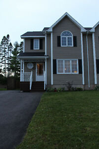 Beautiful semi detached home in Moncton North
