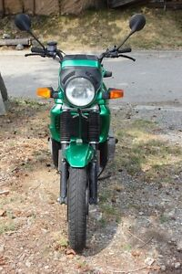 1986 BMW K75c Metalic Green collectable