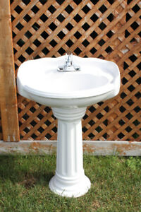 "24"" Pedestal Basin, Pedestal Base and ALL Hardware"