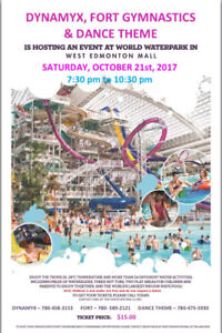 West Edmonton Mall Waterpark Fundraiser Tickets