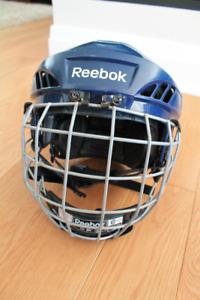 Casque de hockey Reebok 5k Bleu marin / Grandeur Medium
