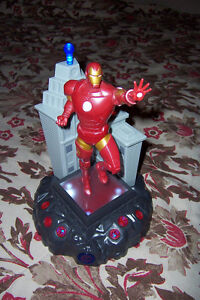 Talking Iron Man Lamp, light up and talks or stays On