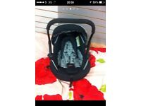Sliver cross Baby car seat