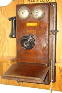 1914 Northern Electric wall telephone