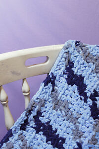 Handmade Chenille baby blanket (crochet) Peterborough Peterborough Area image 5