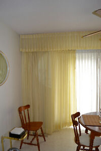 Cheery Yellow Curtains...in excellent condition!