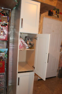 Cabinet from kitchen pantry