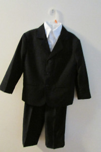 Size 5T Boys Three Piece Suit with White Shirt (Available)