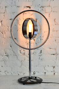 Lampe industriel roue de vélo