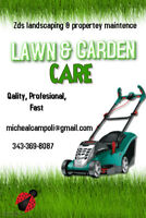 Zds landscaping and  property maintenance