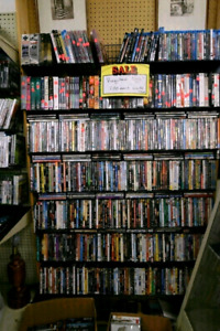 100's of  DVD and Blu-ray  Movies for sale !