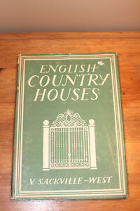 English Country Houses - V. Sackville West 1947