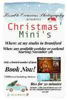 Kissable Occasions Photography presents Christmas Mini sessions