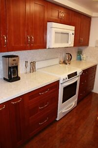 Light Cherry Wood  Kitchen Cabinets on Sale!