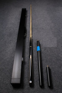 Brand New 3/4 Snooker cue + case & extensions