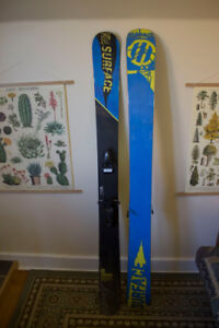 171 Surface New Life Skis with Bindings