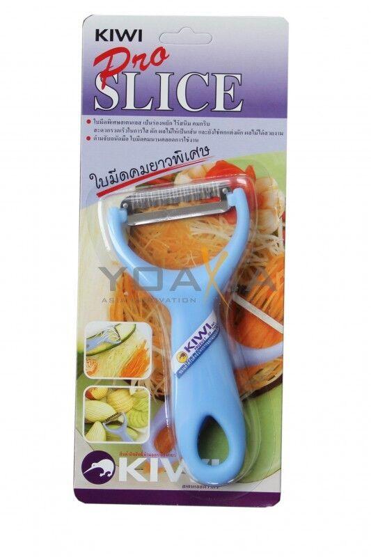Streifen-Schäler Messer (zigzag) KIWI PRO SLICE KNIFE, Sparschäler aus Thailand