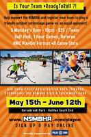 PlayOn! Scrimmage Games Youth/Adult Street Divisions