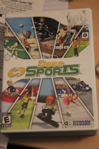Wii Deca Sports  and Just Dance 3 games