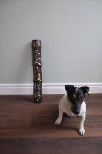 A vendre Bamboo sculpté d'inspiration asiatique 15.00$