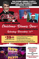 Dean Martin Christmas Dinner Show & Retro Party