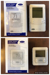Carrier Infinity Control Thermostats