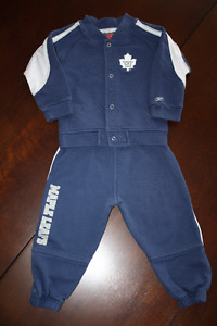 Toronto Maple Leafs Reebok Track Suit- 18 months