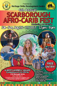 VOLUNTEERS FOR SCARBOROUGH AFRO CARIB FEST WANTED URGENTLY